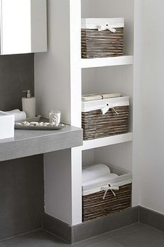 et storage in bathroom - Google Search