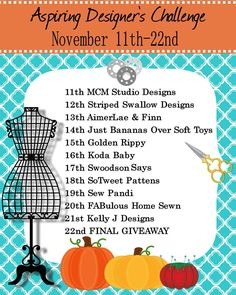 Check out this fantastic challenge with new pattern designers!