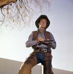 "RAWHIDE (CBS-TV) - Eric Fleming as Trail Boss ""Gil Favor"" - TV Series."