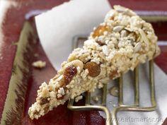 Amaranth-Müsliriegel - smarter - mit Sultaninen und Datteln. Kalorien: 175 Kcal | Zeit: 25 min. #snack