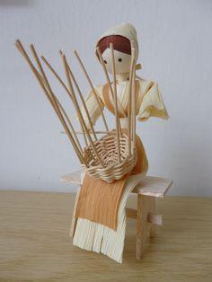 Diy Crafts Slime, Slime Craft, Diy And Crafts, Willow Weaving, Basket Weaving, Corn Husk Crafts, September Crafts, How To Make Corn, Corn Husk Dolls