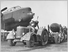 Lancaster Bomber, British Armed Forces, Ww2 Aircraft, Royal Air Force, Old Trucks, Slammed, Military Vehicles, World War, Tractors