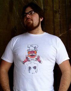 Chef Bork tshirt by TheNerdInAllOfUs on Etsy