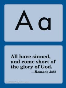 A Beka Bible Verse cards...I memorized these as a child and want my kids to too.