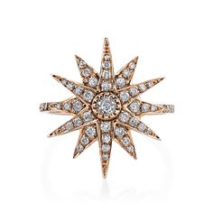 CELESTIAL COLLECTION      * .562 CTS DIAMONDS     * 18K GOLD     * Product number: SR28     * Available in yellow gold, white gold, rose gold and black gold as       shown     * Please email usfor custom sizing
