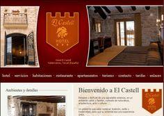 Diseño de la página web del Hotel el Castell. #Idenet #diseño_web #marketing_online http://www.idenet.net/portfolio-item/hotel-el-castell?utm_campaign=portfolio&utm_medio=social&utm_source=pinterest