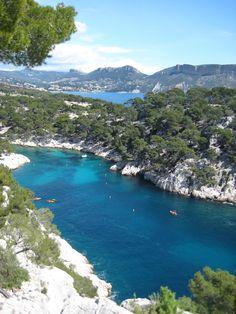 Les Calanques de la Provence, Marseille