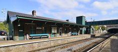 Bargoed Train Station by melaniehartshorn40