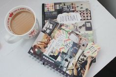 coffee and journals