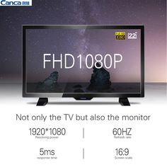 249.33$  Watch here - http://aicy5.worlditems.win/all/product.php?id=32799285528 -  The Cheapest Canca 22inch Full HD 1080P LED Flat-Panel TV Energy-Saving Eyecare Elegant Appearance Narrow Support TV Box
