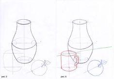 Линейно-конструктивное построение натюрморта