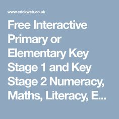 Welcome to Crickweb Primary History, Teaching History, Teaching Kids, Science Resources, Teaching Resources, Fun Games For Kids, Kids Fun, Math Websites, Key Stage 2