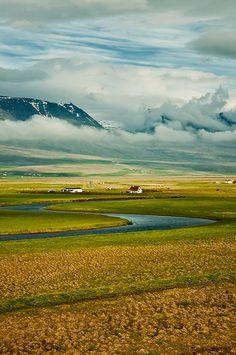 Varmahlid. Iceland.