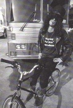 Slash en bici