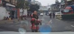 Insurance Scammer Fail in China [New