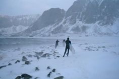 Cant stop surfers  Unstad Vestvgy in Lofoten Norway #winter #cant #stop #surfers #unstad #vestvgy #lofoten #norway #photographer #unknown #image #found #vgno #photography