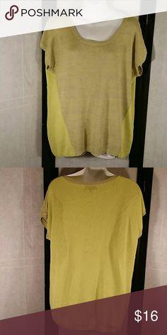 * Spense Knits * Knit Sweater * NWOT * Beautiful * Yellow/Gray * Cotton and Acrylic * No Trades * Bundle and Save * ?? Happy Poshing ?? Spense Sweaters