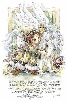 I Wish You Peace... - DreamKeeper - Artist is Jody Bergsma (www.bergsma.com)