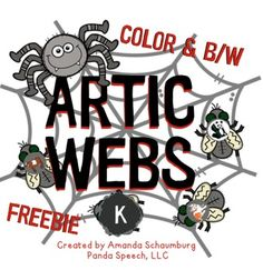 This is an advanced preview sample of my newest product Artic Webs! It is similar to my  ARTIC SWAT   product but in a spider theme! It is perfect for October lesson plans but can be used year round! Mr. Spider is hungry! Help him eat the flies while practicing articulation!