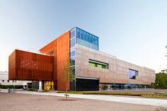 Nueva sede de la compañía de seguros PGGM en la ciudad de Zeist  Autor: Estudio Mateo Arquitectura.
