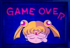 Sailor Moon Game Over