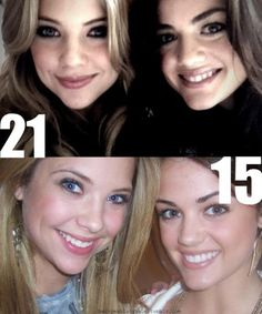 Ashley And Lucy Knew Each Other Before Pretty Little Liars. How awesome.