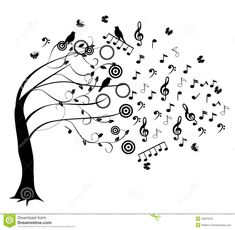 Music Note tree | Musical tree