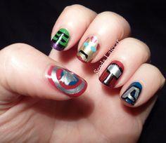 Seoda Laicear: Nerdy Nails Issue 3: The Avengers!