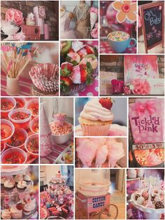 From MaryJanes & Galoshes Pink Cotton Candy  Party