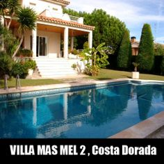 Villa La Habana, Calafell, Costa Dorada | Villas In Costa Brava Spain |  Pinterest | Villas And Spain