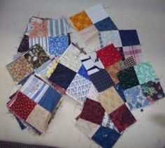 """Quiltville's Quips & Snips!!: Old Tobacco Road, Part 1! Mystery Quilt Along-Bonnie K Hunter So how MANY do you NEED? How about 182 4 patches. Yep. That's right! 182 4 patches that measure 3.5"""" UNFINISHED...and 3"""" finished."""