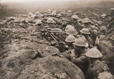 Ypres battle. Menin road, 1917
