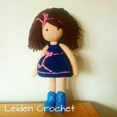Muñeca de ganchillo,  doll, amigurumi,  crochet, hecho a mano, hand made