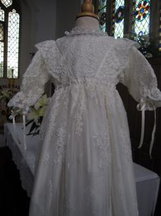 07872684e4da7 Designer Christening Gowns | Handmade from Your Ideas Baptism Gown,  Heirloom Sewing, Crochet,