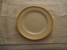 """Vintage Lenox For Tiffany & Co Luncheon Plate.  9"""".  Green Mark. 2 Available. #LenoxForTiffanyCo"""