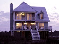 Great Vacation Style Home - plan #024D-0013 | houseplansandmore.com