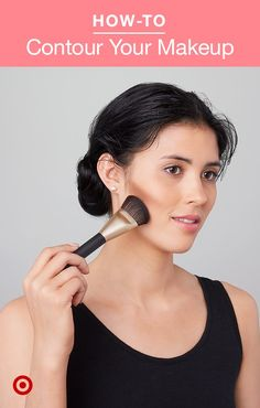 A killer contour method isn't just the secret to a selfie —it's a method you can use everyday. Just wash your face, apply foundation, and get started! Makeup Contouring, Skin Makeup, Highlighting Contouring, Eyebrow Makeup, Beauty Skin, Beauty Makeup, Hair Beauty, Bb Cream Cc Cream, Beauty Secrets