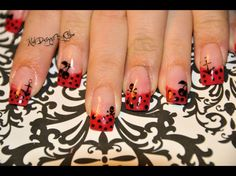 Rockabilly Nails by ChloeWilson - Nail Art Gallery nailartgallery.nailsmag.com by Nails Magazine www.nailsmag.com