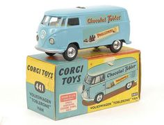 Mettoy Corgi diecast No.441 VW Toblerone Van 1963-67