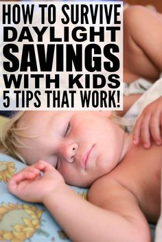 While the idea of having an extra hour in the day to get things done sounds fabulous, Daylight Savings Time can be a nightmare for parents, especially when their kids already wake up at the crack of dawn. But with a little prep work, this collection of tips will teach you how to help your kids effectively adjust to daylight savings time so no one in your family has to miss out on precious sleep.