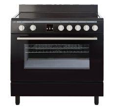 Bush  BSC90EB Electric Range Cooker  Black ... Kitchen workhorse.
