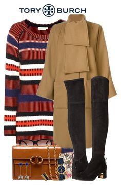 """""""Tory Burch"""" by allyssister ❤ liked on Polyvore featuring Tory Burch"""