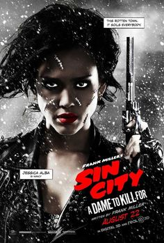 Los pósters de los personajes de Sin City: A Dame to Kill For | Cinegarage