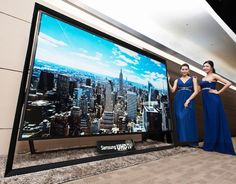 Samsung's 110-inch Ultra HDTV is the world's largest