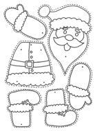 Christmas – Colour, cut, pin and play – 6 designs – PRECOLOURED & BLANK Xmas split pin activitity - weihnachten-neujahr Preschool Christmas Crafts, Christmas Arts And Crafts, Christmas Activities For Kids, Christmas Colors, Christmas Projects, Kids Christmas, Holiday Crafts, Santa Crafts, Christmas Worksheets