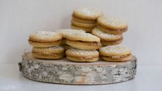 Alfajores Recipe | Latin American Recipes | PBS Food  I think this is one of my Mom's recipes.