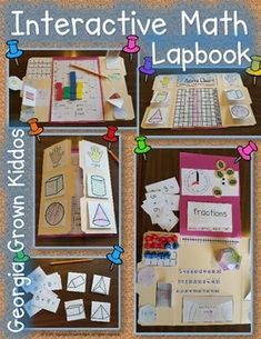 More than just a lapbook-Save money and time by using this as a lapbook, interactive notebook, or journal. Use the flip books and activities for any setting and any learner. This hands-on interactive math lapbook for primary grades is perfect for applying their knowledge and understanding of computation, data and tally marks, graphing, 2-D and 3-D shapes, time, and fractions.