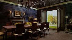 Hannibal's Dining Room