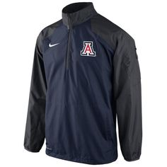 Check out our entire selection of NCAA gear, including this Nike Arizona Wildcats Lockdown Half-Zip Storm-FIT Performance Jacket - Men, at Meserti.