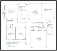 1600 sq ft 40 x 40 house floor plan google search barn - Design my own floor plan online free ...